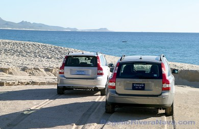 2005 Volvo V50 T5 and Volvo V50 T5 AWD, Mexican press launch Volvo S60-R and Volvo lineup, Los Cabos, Baja California, Mexico