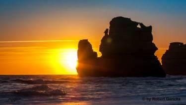 Sunset Great Ocean Road