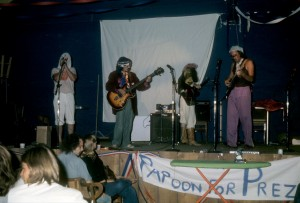 Barking Geckos at 1976 National Surrealist Party Convention