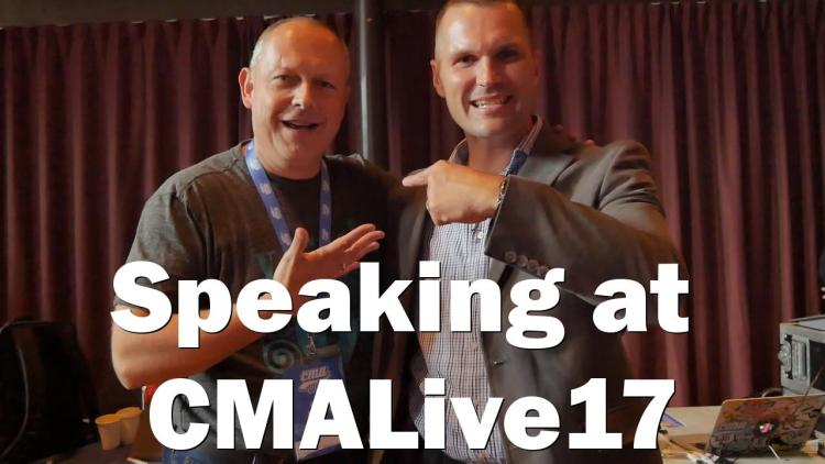 Speaking at CMALive17 the best marketing conference in the world - RogVLOG - 12