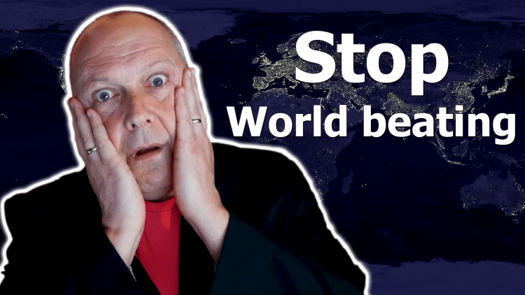 How to avoid overused marketing words. Stop World beating. Marketing Made Simple 22