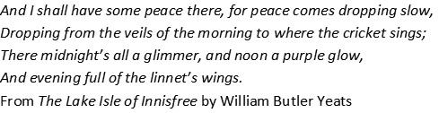 Yeats poem