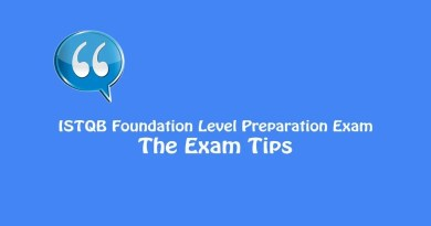 ISTQB Foundation Level Exam - The Exam Tips