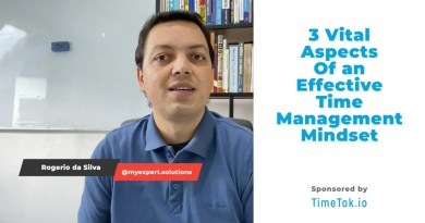Three vital aspects of an effective time management mindset