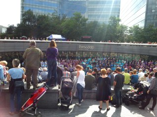 Sing for Water at The Scoop