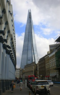 The Shard, on the way to the market