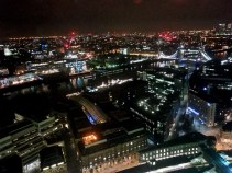 London from 32 floors up