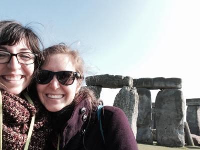 Cici and Andrea Stonehenge