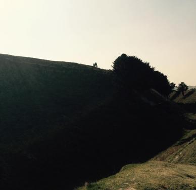 Old Sarum silhouettes