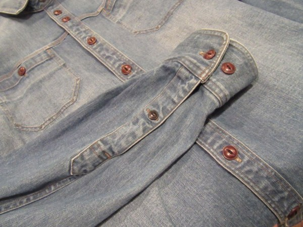 SALE Recommend Item / Mr.attick / Aged Denim Shirts ...