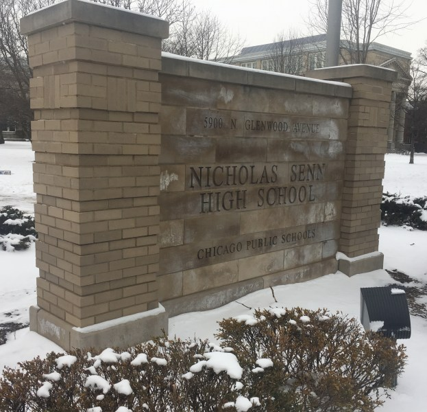The high school is named in honor of Nicholas Senn, a surgeon, professor of surgery and founder of the Association of Military Surgeons of the United States. Nicholas Senn served as the president of the American Medical Association in 1897–98 and as chief surgeon of the Sixth Army Corps in 1898.