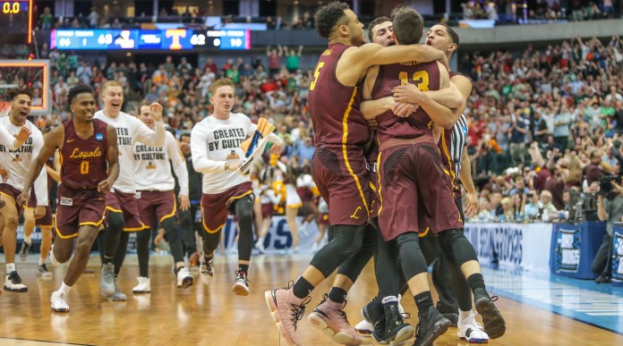 NCAA BASKETBALL: MAR 17 Div I Men's Championship - Second Round - Loyola v Tennessee