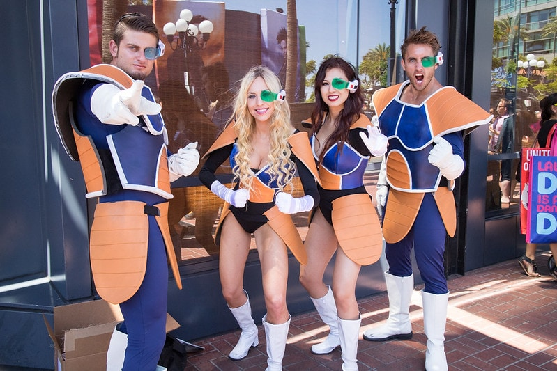 does cosplay have to be Anime