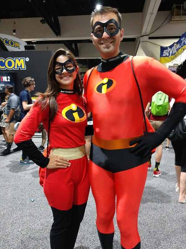 The Incredibles (Halloween Costume Ideas For Couples)