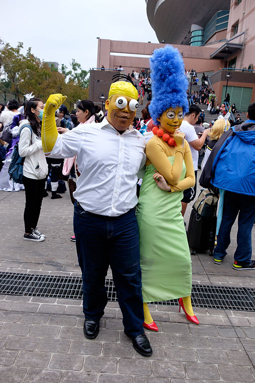 The Simpsons (Halloween Costume Ideas For Couples)
