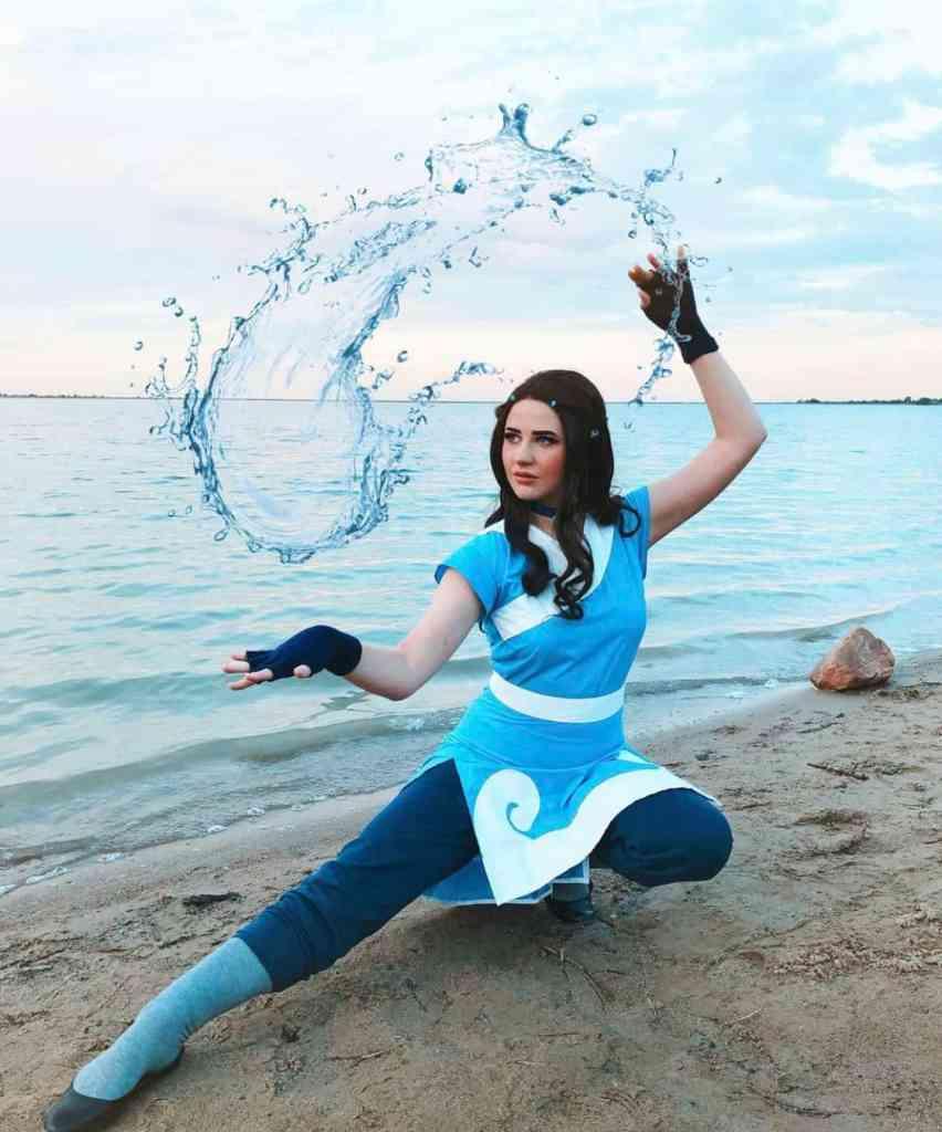 Katara cosplay