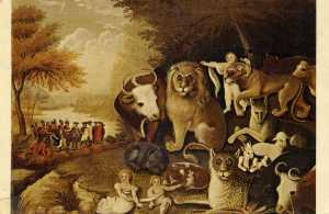 The Peacable Kingdom - postcard img743