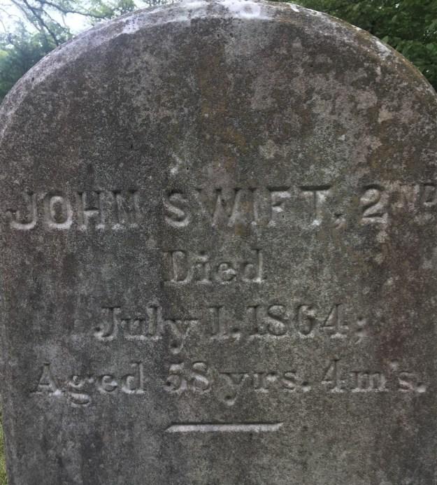 John Swift 2nd gravestone (2)