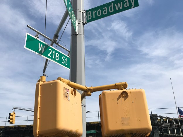 218th Street and Broadway.JPG
