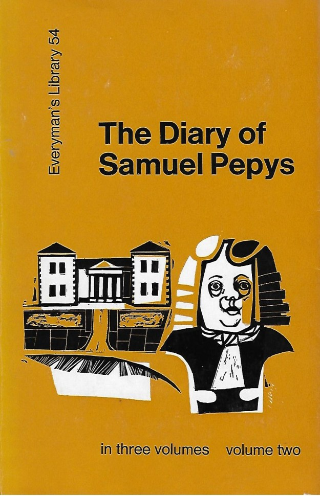 The Diary of Samuel Pepys - cover