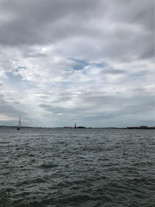 New York Harbor 11-42 a.m. 10-7-2019