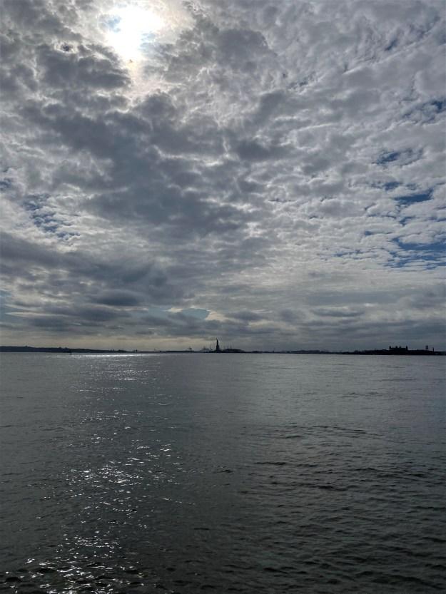 New York Harbor 3-28 p.m. 3-17-2020