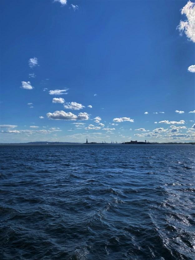 New York Harbor 4-54 p.m. 5-4-2020