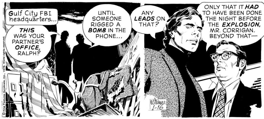 Secret Agent Corrigan från 16 januari 1976