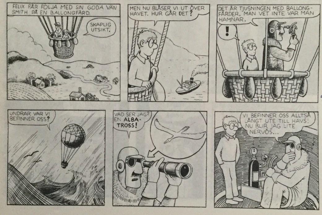 Felix och Ben Hassans skatt av Carlsen Comics
