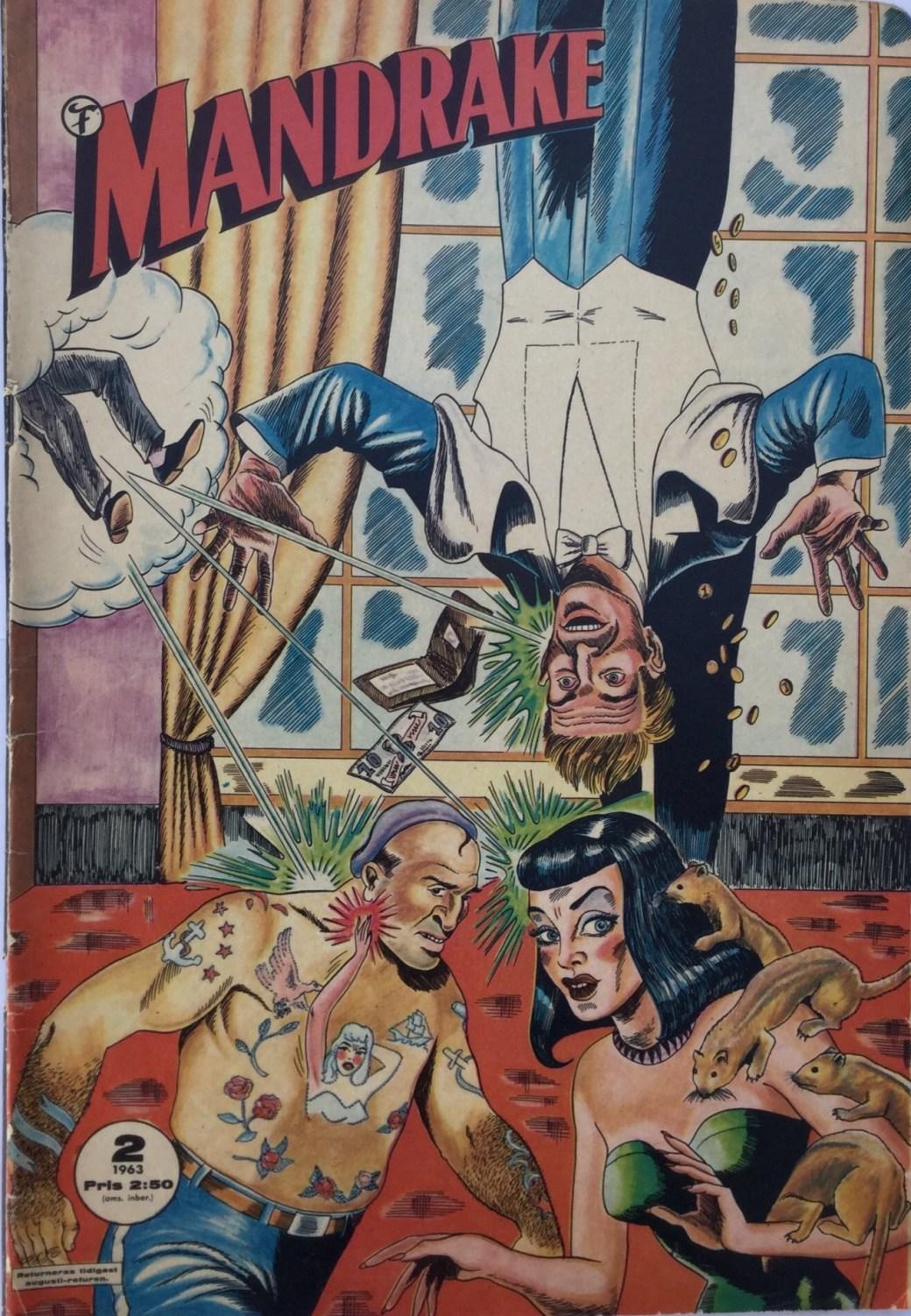 Mandrake nr 2, 1963