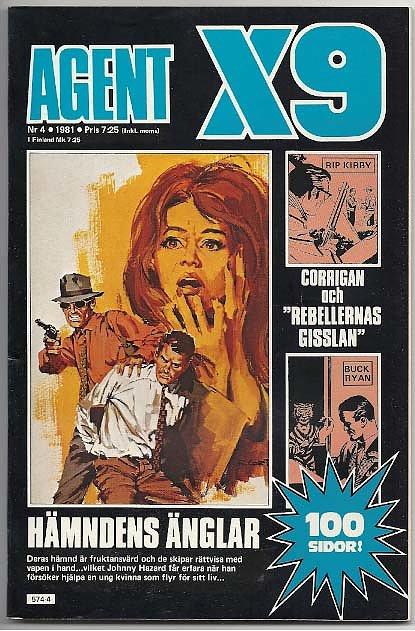 Corrigan i Agent X-9 i nr 4, 1981