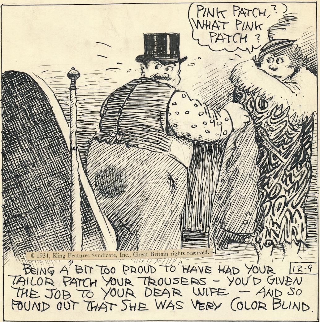 George Herriman gjorde andra teckningar och serier än Krazy Kat