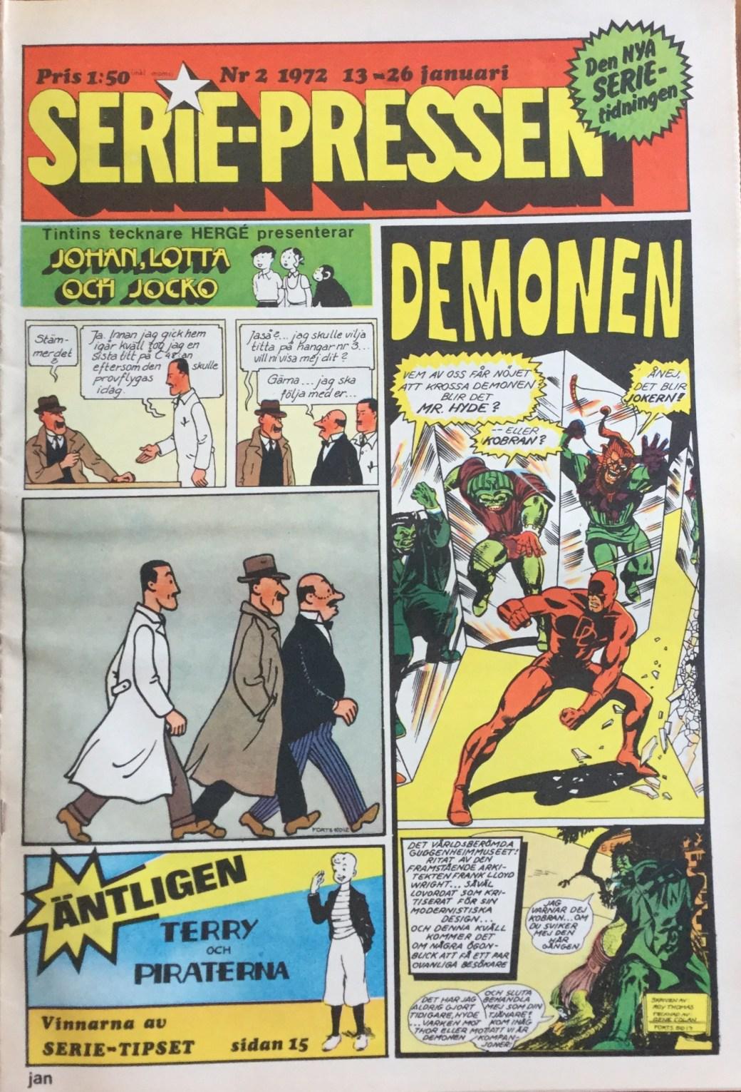 Serie-Pressen nr 2, 1972