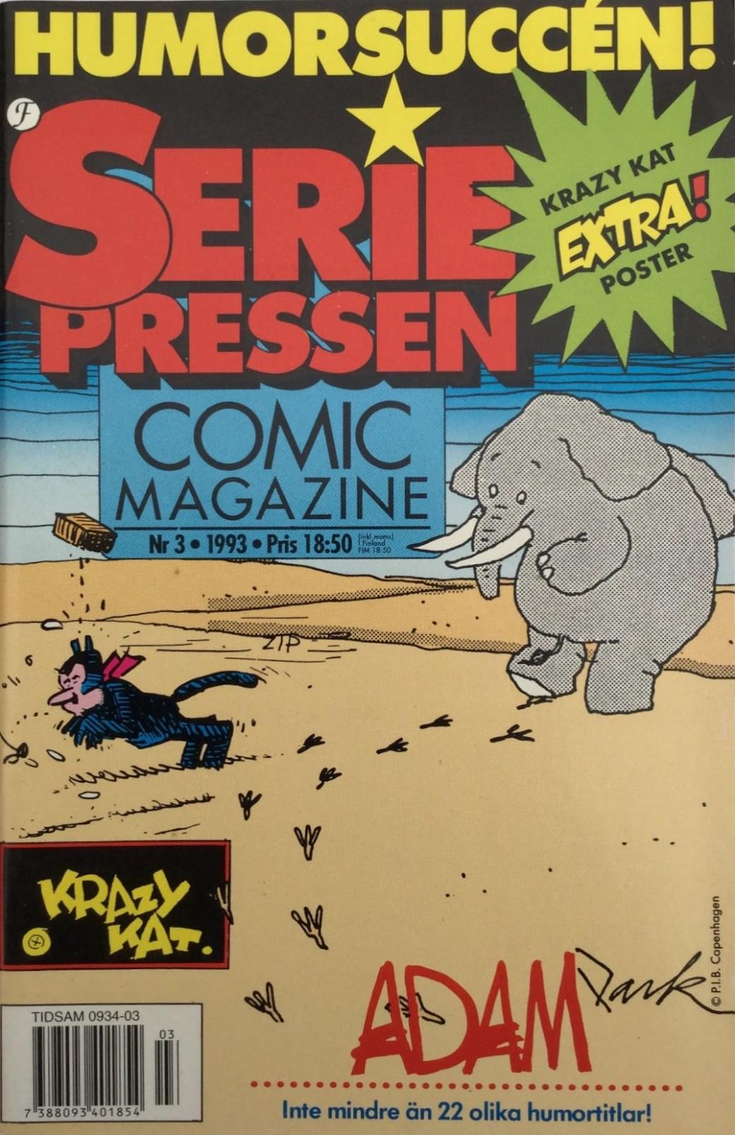 SeriePressen nr3, 1993