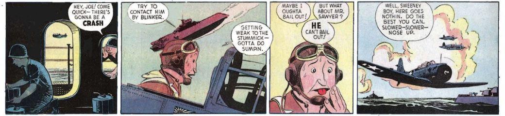 Roscoe Sweeney är skytt och Buz' partner på Bomber 13