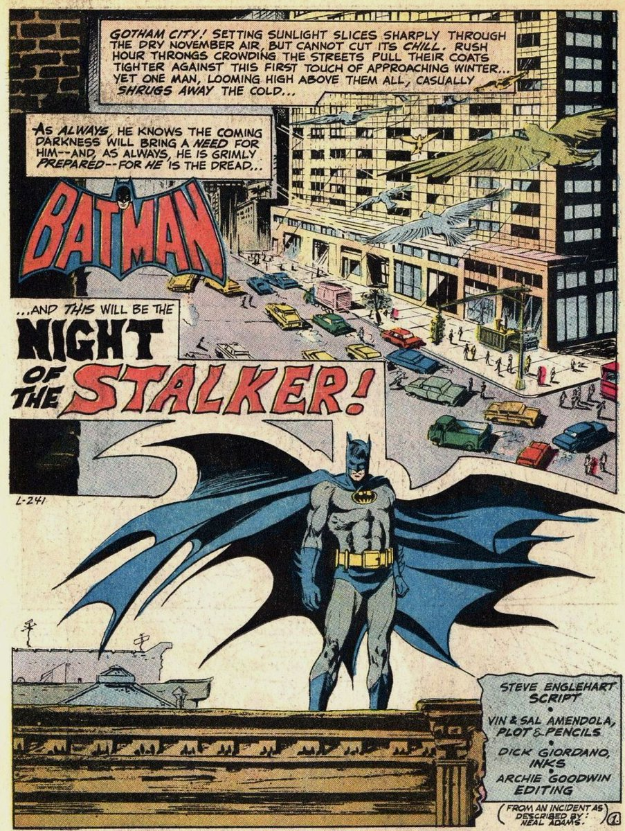 Batman av Goodwin, editor, Steve Englehart, writer, och Howard Chaykin, bild
