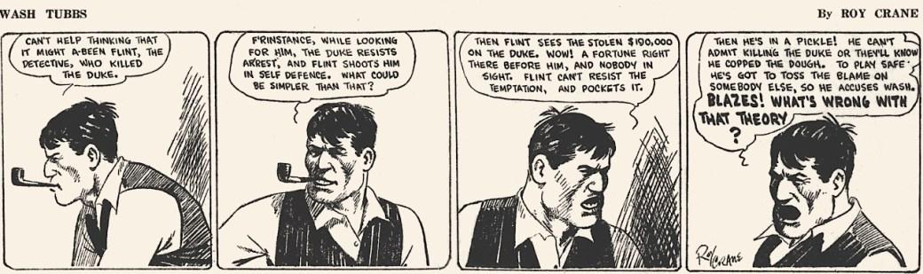 1929 introducerades Captain Easy