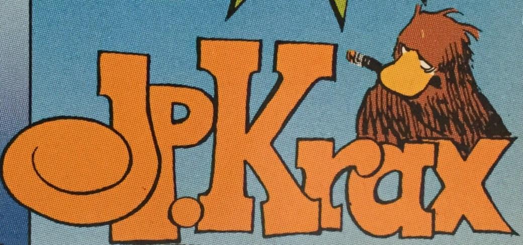 JP Krax publicerades i SeriePressen 1993-94