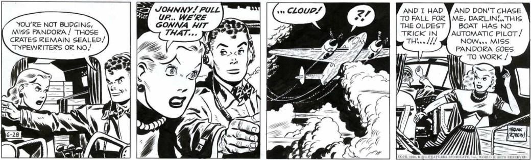 Johnny Hazard från 28 juni 1946