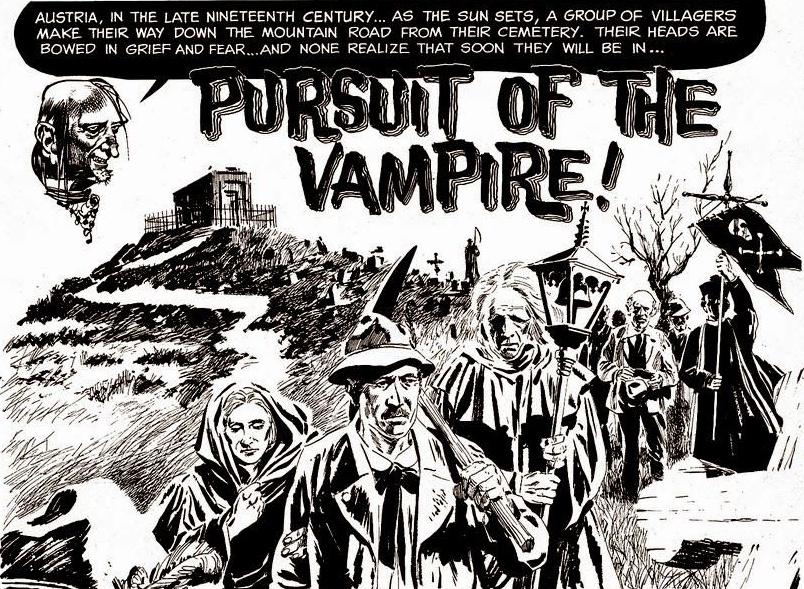 En Archie Goodwin-historia för Creepy med teckningar av Angelo Torres