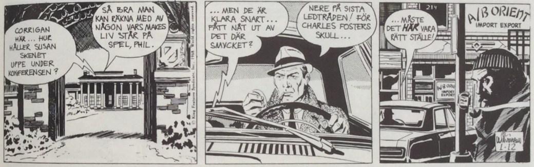 Secret Agent Corrigan från 16 januari 1968