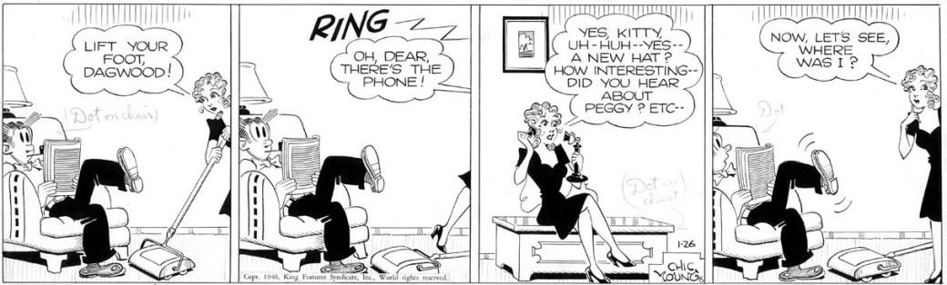Dagsstripp från 26 januari, 1946
