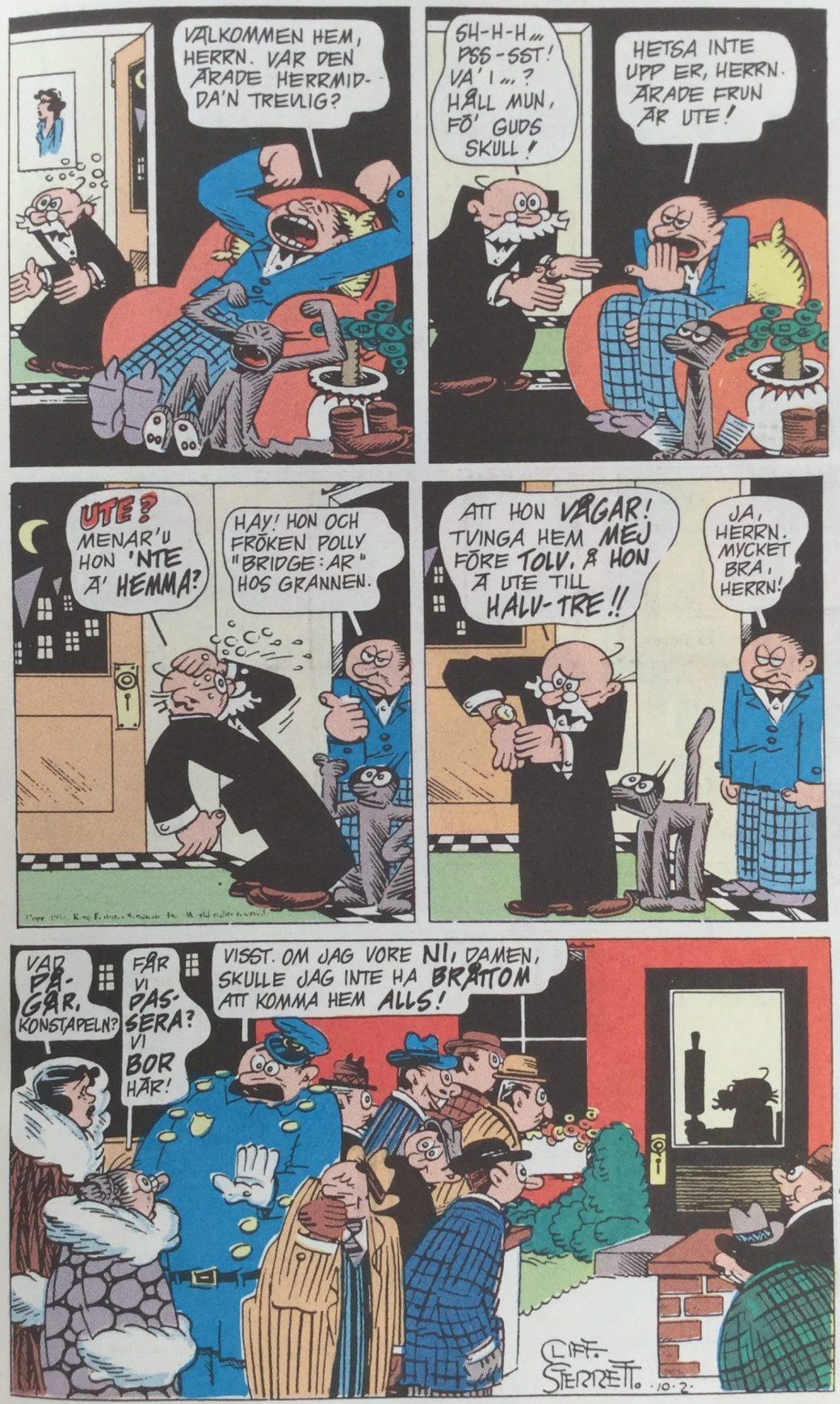 Polly och Pär ur SeriePressen nr 4, 1993 - del 2