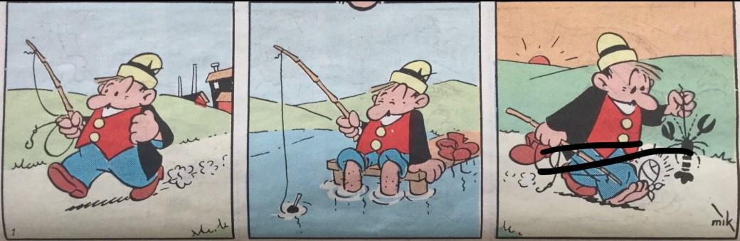 Den första strippen med serien  Ferd'nand. ©PIB
