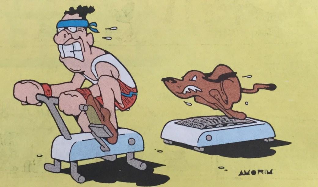 Amorim i Carrousel ur SeriePressen nr 3, 1993