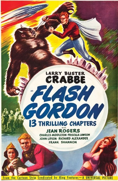 Flash Gordon med Buster Crabb