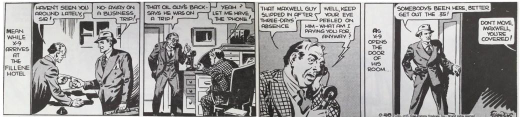 Secret Agent X9 av Charles Flanders från 28 september 1937