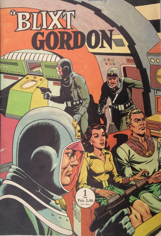 Blixt Gordon nr 1, 1964