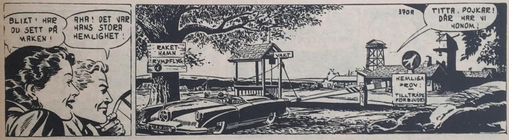 """En stripp ur """"Andens makt"""", från 22 april 1953"""