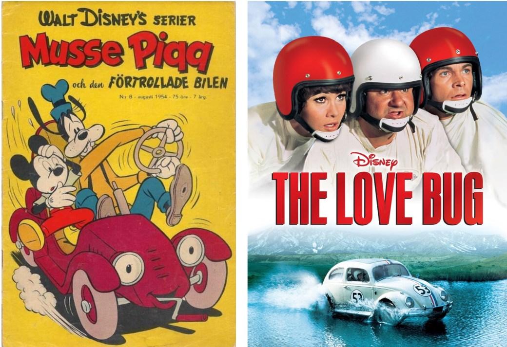 Moores tecknade serien om den förtrollade bilen